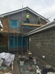 Large domestic EWI and rendering project