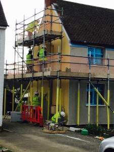 EWI project in Northampton